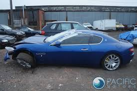 blue maserati quattroporte right passenger door shell blue 68498600 maserati granturismo m145