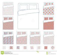 linen and bedding duvet vector textile patterns template stock