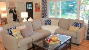 Pumpkin Colored Curtains Decorating Living Room Falling Room Pictures Design Rooms
