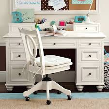 Writing Desk With Chair Chelsea Desk U0026 Hutch Pbteen