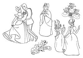 disney princess coloring pages cinderella 479374 coloring pages
