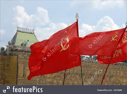 Soviet Russian Flag Flags Red Soviet Flags Stock Photo I2278406 At Featurepics