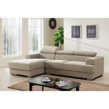 Left Facing Sectional Sofa Container Furniture Direct Gabriel Contemporary Fabric Upholstered