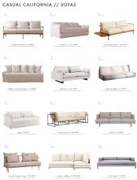 California Sofa Reviews Achieving The U0027effortless Expensive U0027 Style Furniture Emily
