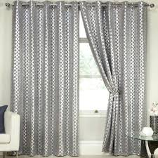 Grey And Silver Curtains Silver Blackout Curtain Ready Made Blackout Curtains Silver Grey