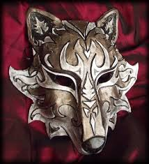 wolf masquerade mask wolf mask by namingway on deviantart for those days i want to