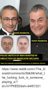 Meme Wiki - ohn podesta tony podesta police sketch of men wanted in abduction of