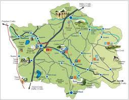 Northern Ireland Map Banbridge District Tourism Map Banbridge Northern Ireland Uk