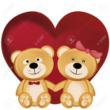 s day teddy bears two beautiful and cheerful teddy bears hugging each other in