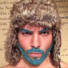 flesh color hair trend 2015 merman trend men are dyeing their hair with incredibly vivid