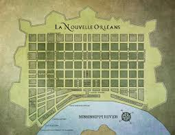 Street Map Of New Orleans by