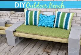 Making A Bench Cushion Easy Diy Outdoor Bench For Under 30