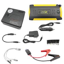 qd12 smart car jump starter with compressor hyper power solutions
