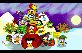 merry christmas 2014 extravagant version by angrybirdsstuff on
