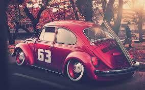 pink volkswagen beetle with eyelashes vw wallpapers 4usky com