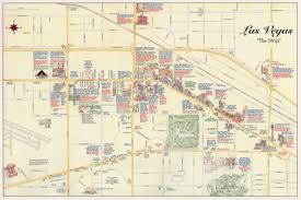 Map Of Las Vegas Strip Showing Hotels by Map Of The Strip I15 In Pink West Of City Take That To Us 95 To