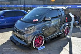 slammed smart car the best and worst of sema 2014 autoevolution