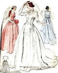 vogue wedding dress patterns vogue wedding dress patterns vintage