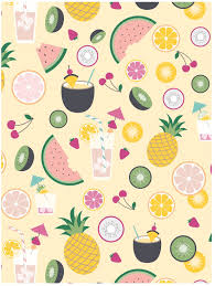 pineapple wrapping paper tropical drinks wrapping paper hank sylvies