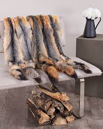 Deer Hide Tanning Companies Grey Fox Fur Pelts Tanned Skins Fursource Com