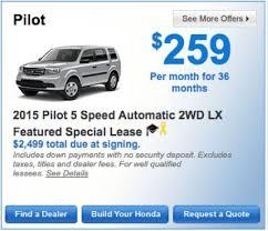 honda car deal best 25 honda pilot lease ideas on 2015 honda pilot