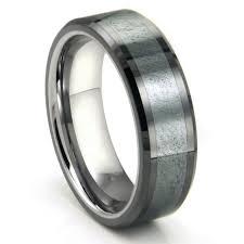 Tungsten Comfort Fit Wedding Bands Wedding Rings Tungsten Vs Titanium Strength What Is Black