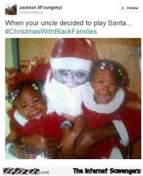 Funny Santa Memes - when your uncle decided to play santa funny meme pmslweb