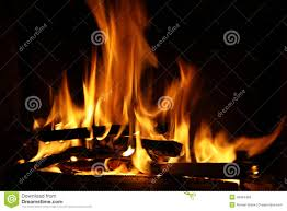 fire in a fireplace fire flames stock photo image 46954456