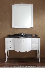 creative distressed wood bathroom vanities using rustic white oak