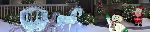 outdoor christmas decorations clearance lighted yard decorations brighten your yard with walkway trees