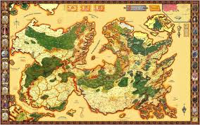 Fantasy Map The Setting To End All Settings Fantasy Map Review V Birthright