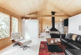 Prefab Studio Exquisite Solar Powered Wood Studio House In Spain Boasts A Tiny