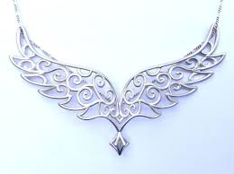 wings necklace pendant images Angel wings pendant precious metals ydfxc8g8a by cwestbrook jpg
