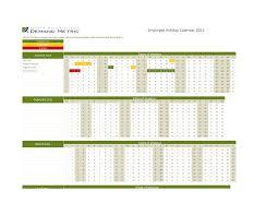 staff holiday planner excel template 10 best images of employee attendance calendar design employee employee vacation calendar template 2015