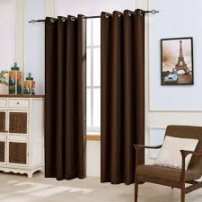 Blackout Window Curtains Subrtex 2 Panels Linen Thermal Insulated Window Treatment Grommet