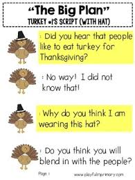 reader s theater plays thanksgiving 2 parts 2 plays by playful in