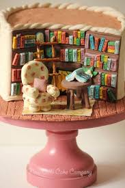 cake for the 25 best library cake ideas on book cakes