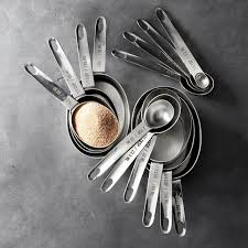 nesting kitchen knives williams sonoma stainless steel nesting measuring cups spoons