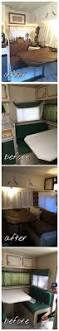 Camper Trailer Kitchen Ideas by Best 25 Rv Table Ideas Ideas Only On Pinterest Camper Cushions