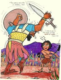 david and goliath aunties bible lessons
