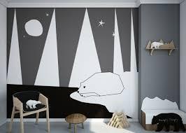 etagere murale chambre enfant design interieur deco chambre enfant chaise bois table ronde