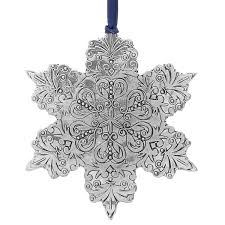snowflake ornaments wendell august