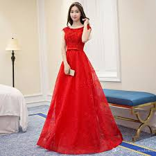 host engagement gown female birthday party evening gown long