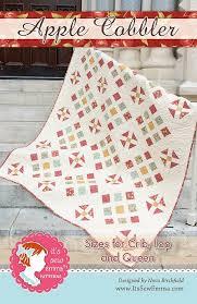 apple cobbler quilt pattern it u0027s sew emma ise 174 it u0027s sew emma