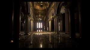 making of palace interior 3ds max unreal engine tutorial final