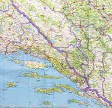 Bosnia Map Map Of The Balkans Slovenia Croatia Serbia Bosnia Montenegro