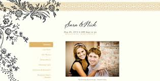 wedding invitation websites william arthur vera lace invitation website