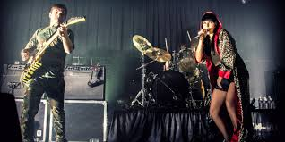 sleigh bells at the metro noise pop duo rocks sold out chicago