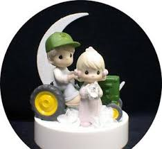 deere cake toppers precious moments country western deere tractor wedding cake