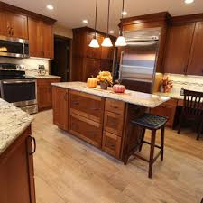 what color granite looks best with cherry cabinets cherry cabinets with quartz countertop houzz